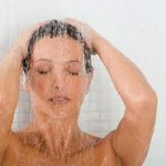 shower in shower